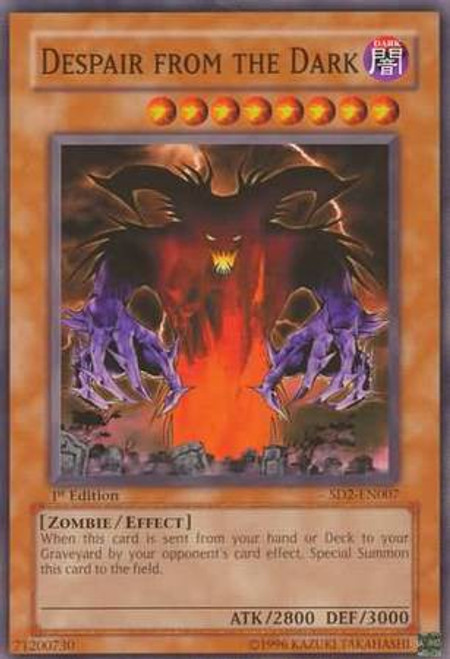 YuGiOh GX Trading Card Game Structure Deck: Zombie Madness Despair From the Dark SD2-EN007