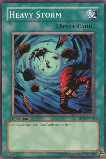 YuGiOh GX Trading Card Game Structure Deck: Zombie Madness Heavy Storm SD2-EN019