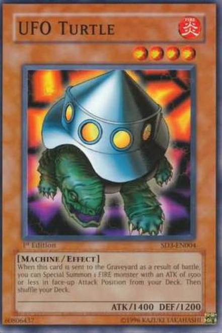 YuGiOh Structure Deck: Blaze of Destruction UFO Turtle SD3-EN004