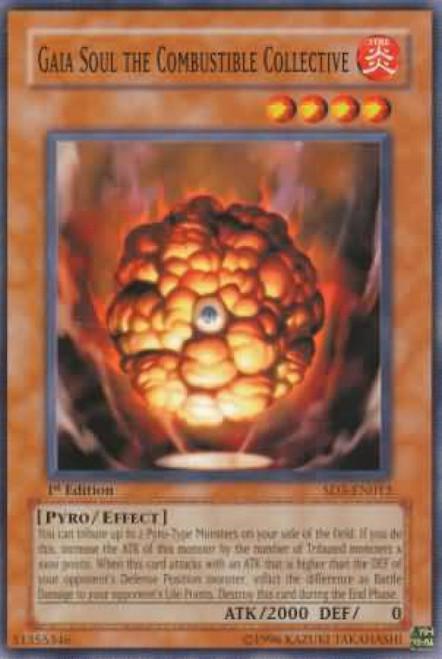 YuGiOh Structure Deck: Blaze of Destruction Gaia Soul the Combustible Collective SD3-EN012