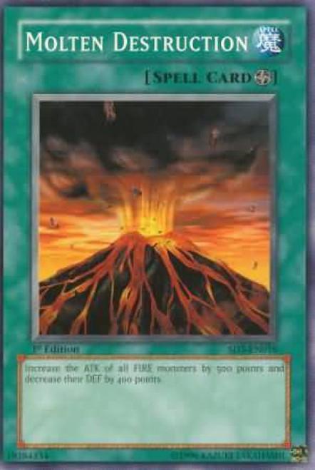 YuGiOh Structure Deck: Blaze of Destruction Molten Destruction SD3-EN016