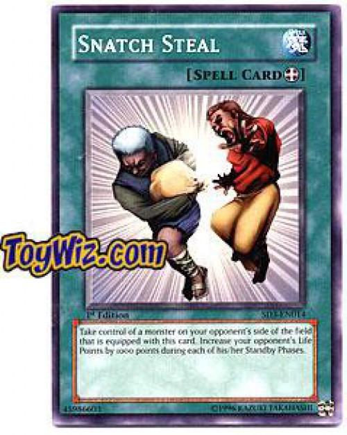 YuGiOh Structure Deck: Blaze of Destruction Common Snatch Steal SD3-EN014