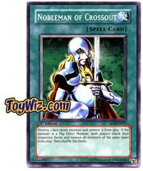 YuGiOh Structure Deck: Blaze of Destruction Common Nobleman of Crossout SD3-EN017