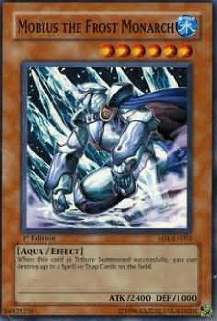 YuGiOh GX Trading Card Game Structure Deck: Fury from the Deep Common Mobius the Frost Monarch SD4-EN012