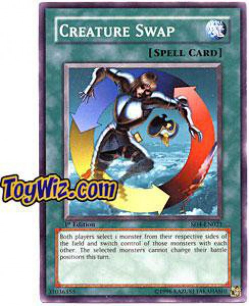 YuGiOh GX Trading Card Game Structure Deck: Fury from the Deep Common Creature Swap SD4-EN021