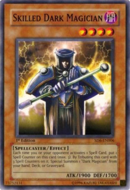 YuGiOh Structure Deck: Spellcaster's Judgment Common Skilled Dark Magician SD6-EN006