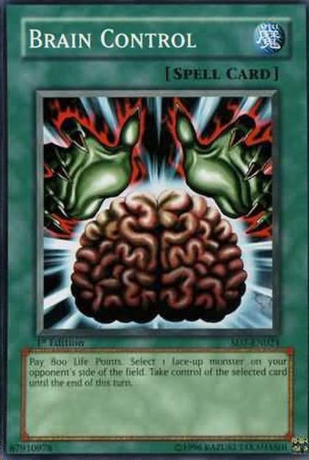 YuGiOh Structure Deck: Invincible Fortress Common Brain Control SD7-EN024