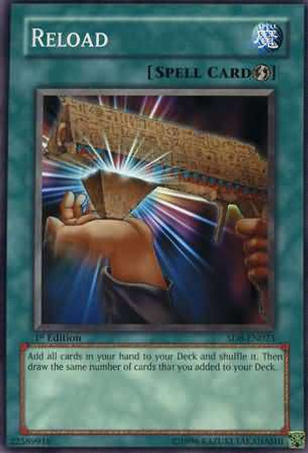 YuGiOh GX Trading Card Game Structure Deck: Lord of the Storm Common Reload SD8-EN023