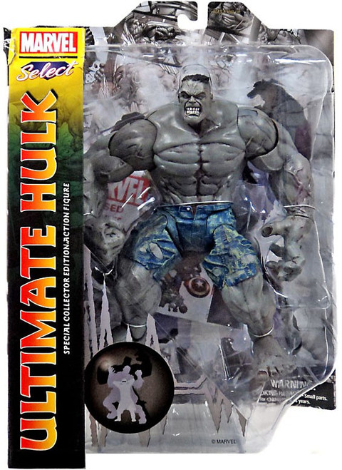 Marvel Select Ultimate Hulk Action Figure [Grey]