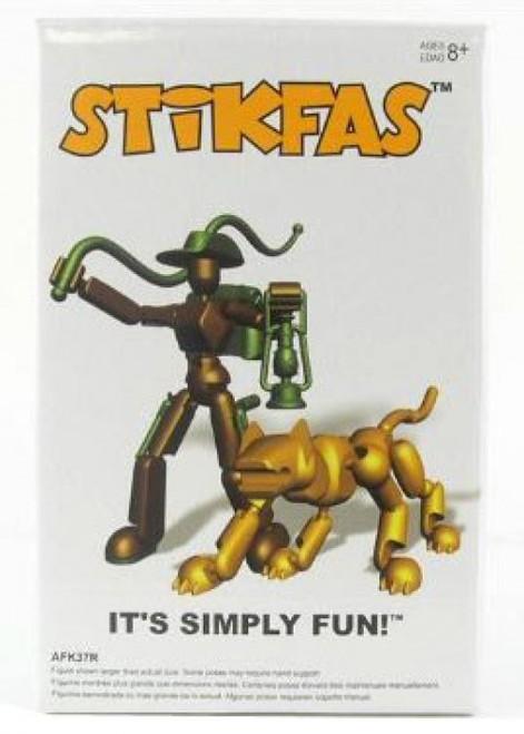Stikfas Redeco Omedga Beta Female Action Figure Kit [Jungle Cat]