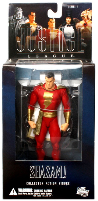 DC Alex Ross Justice League Series 4 Shazam! Action Figure