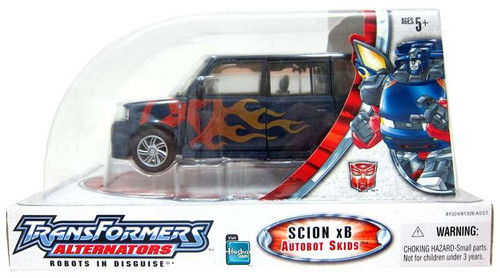 Transformers Alternators Toyota Scion xB Skids Action Figure