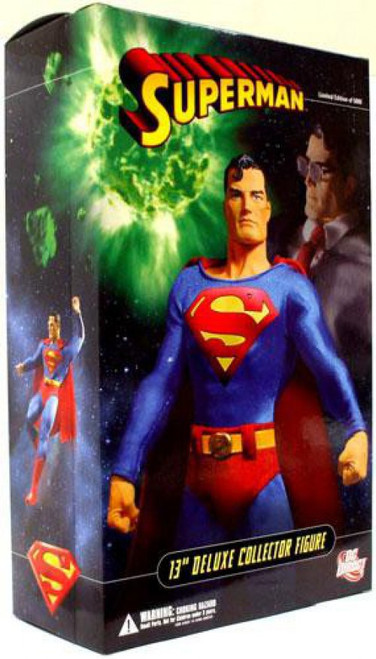 DC Superman 13-Inch Deluxe Collector Figure