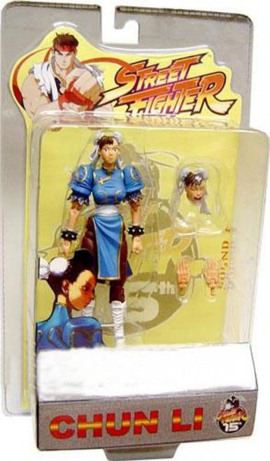 Street Fighter Series 1 Chun-Li Action Figure [Blue]
