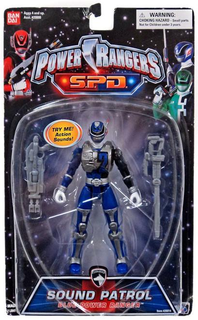 Power Rangers SPD Sound Patrol Blue Power Ranger Action Figure