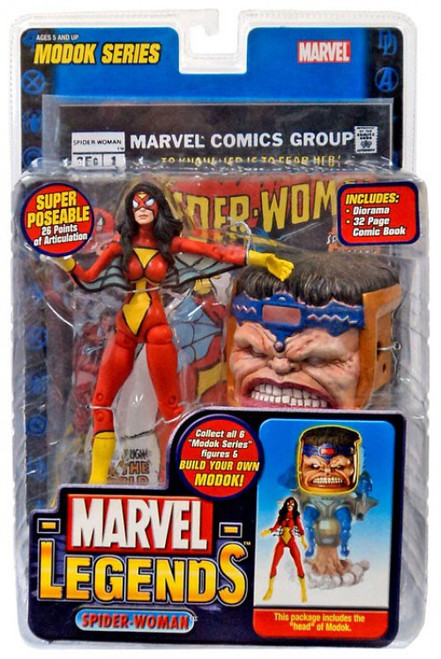 Marvel Legends Series 15 M.O.D.O.K. Spider-Woman Action Figure