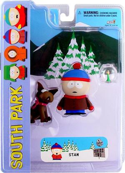 South Park Series 2 Stan Action Figure [With Sparky]