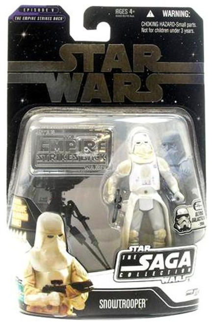 Star Wars The Empire Strikes Back 2006 Saga Collection Snowtrooper Action Figure [Ultimate Galactic Hunt]