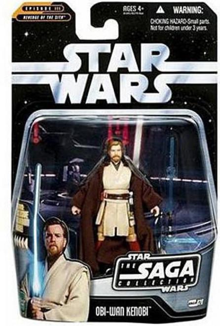 Star Wars Revenge of the Sith 2006 Saga Collection Obi-Wan Kenobi Action Figure #28