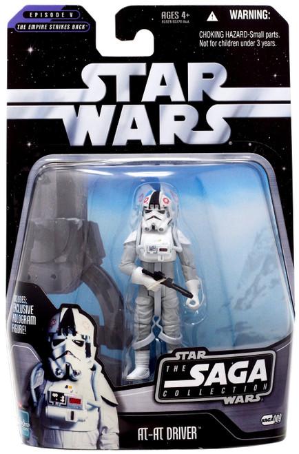 Star Wars The Empire Strikes Back 2006 Saga Collection AT-AT Driver Action Figure #09