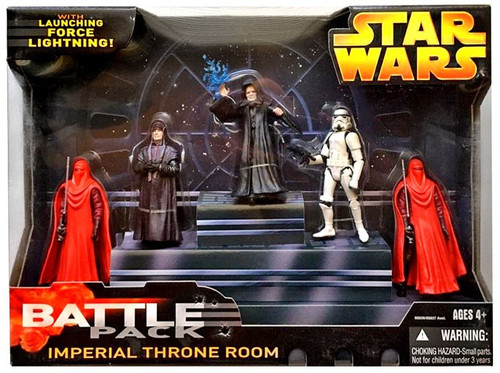 Star Wars Return of the Jedi 2005 Imperial Throne Room Exclusive Action Figure Battle Pack