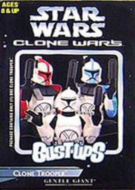 Star Wars The Clone Wars Bust-Ups Series 7 Clone Trooper Micro Bust [Blue Trim]
