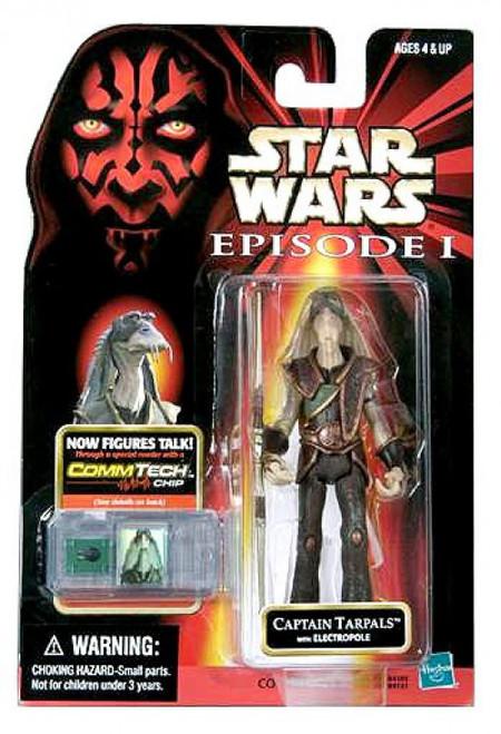Star Wars Phantom Menace 1999 Episode I Basic Captain Tarpals Action Figure