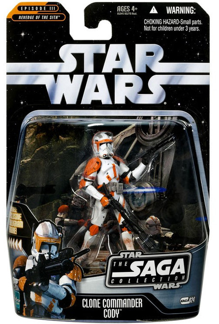 Star Wars Revenge of the Sith 2006 Saga Collection Clone Commander Cody Action Figure #24
