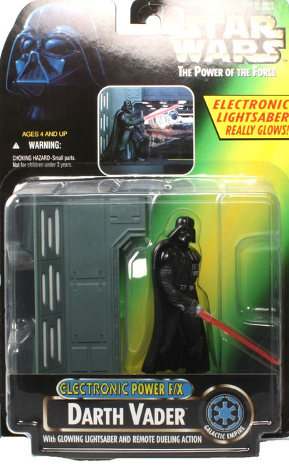 Star Wars A New Hope Power of the Force POTF2 Electronic Power F/X Darth Vader Action Figure