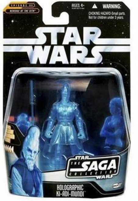 Star Wars Revenge of the Sith 2006 Saga Collection Holographic Ki-Adi-Mundi Action Figure #27