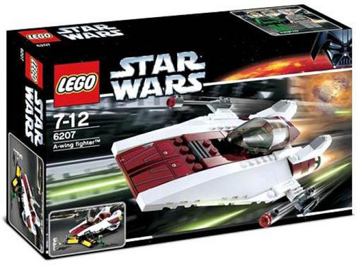 LEGO Star Wars Return of the Jedi A-Wing Fighter Set #6207
