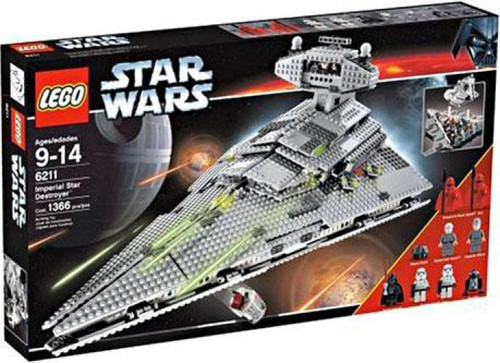 LEGO Star Wars A New Hope Imperial Star Destroyer Set #6211
