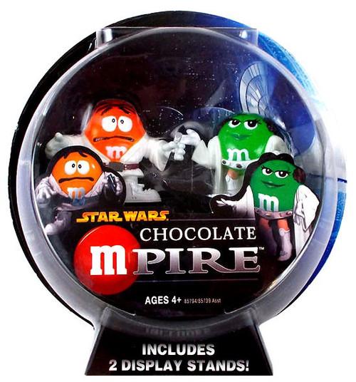 Star Wars M&Ms Chocolate Mpire Princess Leia & Luke Skywalker Action Figure 2-Pack