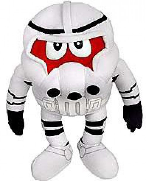 Star Wars M&Ms Chocolate Mpire Plush Buddies Series 1 Clone Trooper Plush