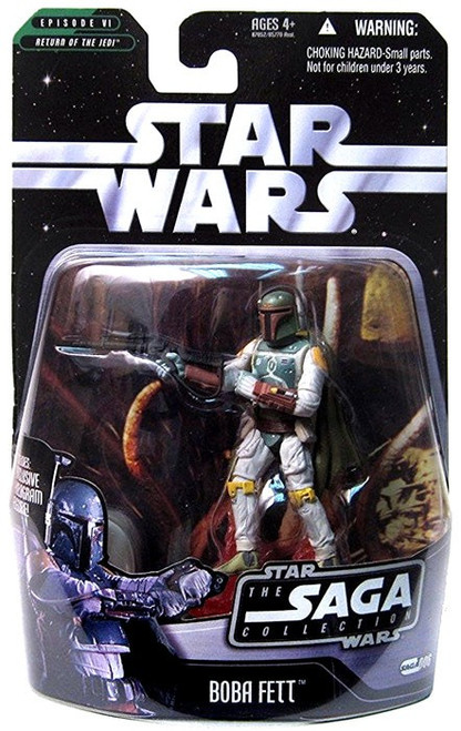 Star Wars Return of the Jedi 2006 Saga Collection Boba Fett Action Figure #06