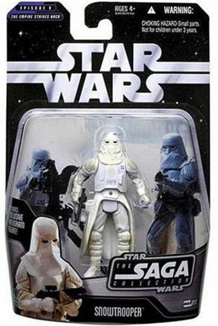Star Wars The Empire Strikes Back 2006 Saga Collection Snowtrooper Action Figure #11