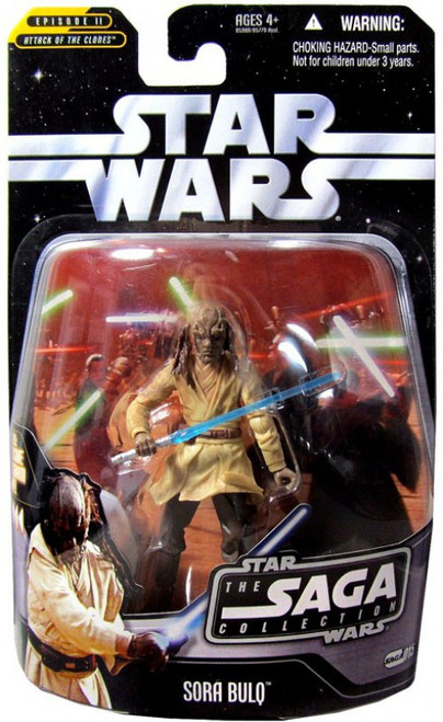 Star Wars Attack of the Clones 2006 Saga Collection Sora Bulq Action Figure #15