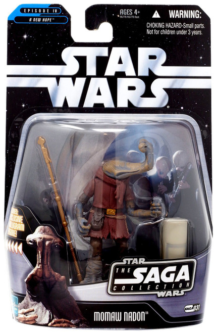 Star Wars A New Hope 2006 Saga Collection Momaw Nadon Action Figure #31 [Hammerhead]