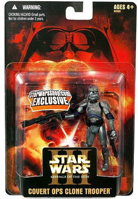 Star Wars Revenge of the Sith 2005 Covert Ops Clone Trooper Exclusive Action Figure