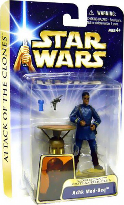 Star Wars Attack of the Clones Achk Med-Beq Action Figure #37 [Coruscant Outlander Club]