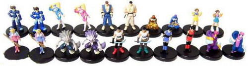 Street Fighter Set of 20 PVC Figures