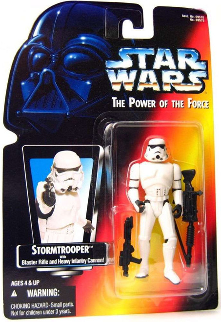 Star Wars A New Hope Power of the Force POTF2 Stormtrooper Action Figure