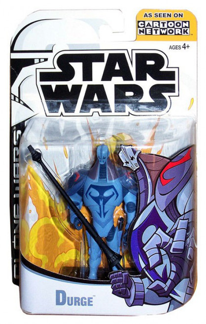 Star Wars The Clone Wars Cartoon Network Durge Action Figure