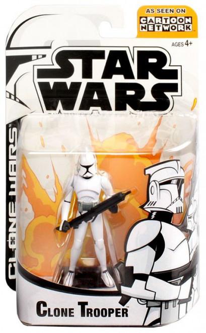 Star Wars The Clone Wars Cartoon Network Clone Trooper Action Figure