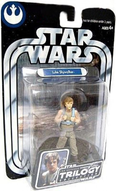 Star Wars The Empire Strikes Back 2004 Original Trilogy Collection Luke Skywalker Action Figure #1 [Dagobah, Upright]