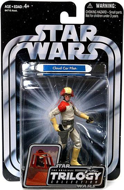 Star Wars The Empire Strikes Back 2004 Original Trilogy Collection Cloud Car Pilot Action Figure #19