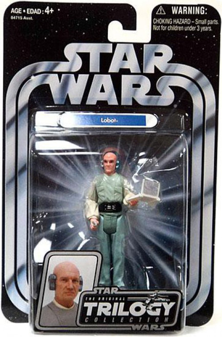 Star Wars The Empire Strikes Back 2004 Original Trilogy Collection Lobot Action Figure #20