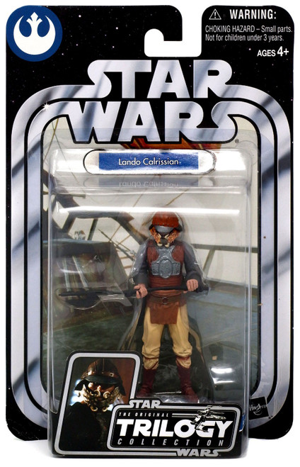 Star Wars Return of the Jedi 2004 Original Trilogy Collection Lando Calrissian Action Figure #32 [Skiff Guard Disguise]