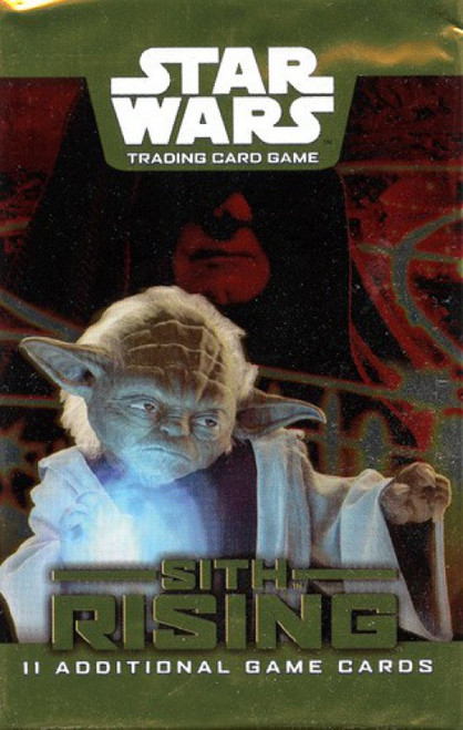 Star Wars Trading Card Game Sith Rising Booster Pack [11 Cards]