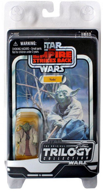 Star Wars The Empire Strikes Back 2004 Original Trilogy Collection Yoda Action Figure
